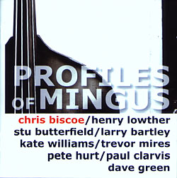 Profiles of Mingus CD Cover