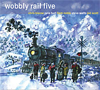 Wobbly Rail Five CD cover